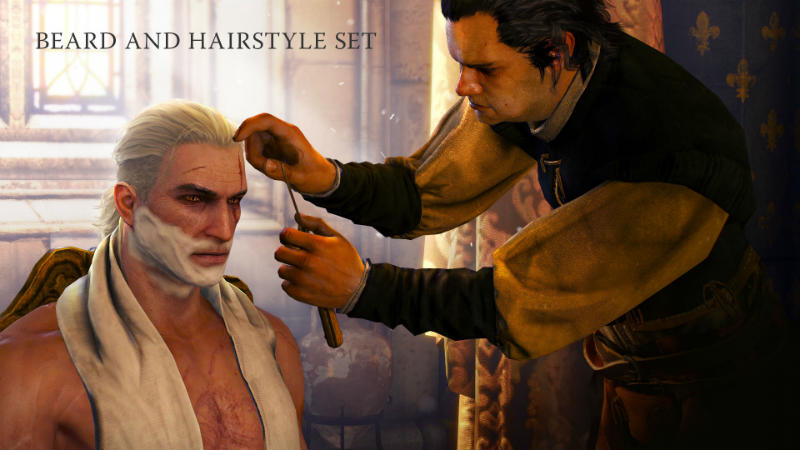 The Witcher 3: Beard and Hairstyle Set DLC / Комплект бород и причесок - DLC - The Witcher 3 - Моды - Reason For Play Присоединя